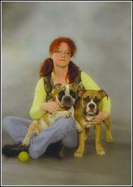 Diana und Hunde