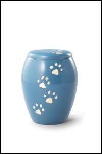 """Messing blau """"Pfötchen"""" Art.-Nr. 5710 - 0,75 ltr. - 89,00 Euro Art.-Nr. 5711 - 1,5 ltr. - 121,00 Euro Art.-Nr. 5712 - 2,0 ltr. - 129,00 Euro"""