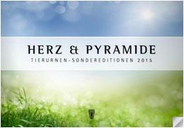Tierurnen Katalog - Herz & Pyramide